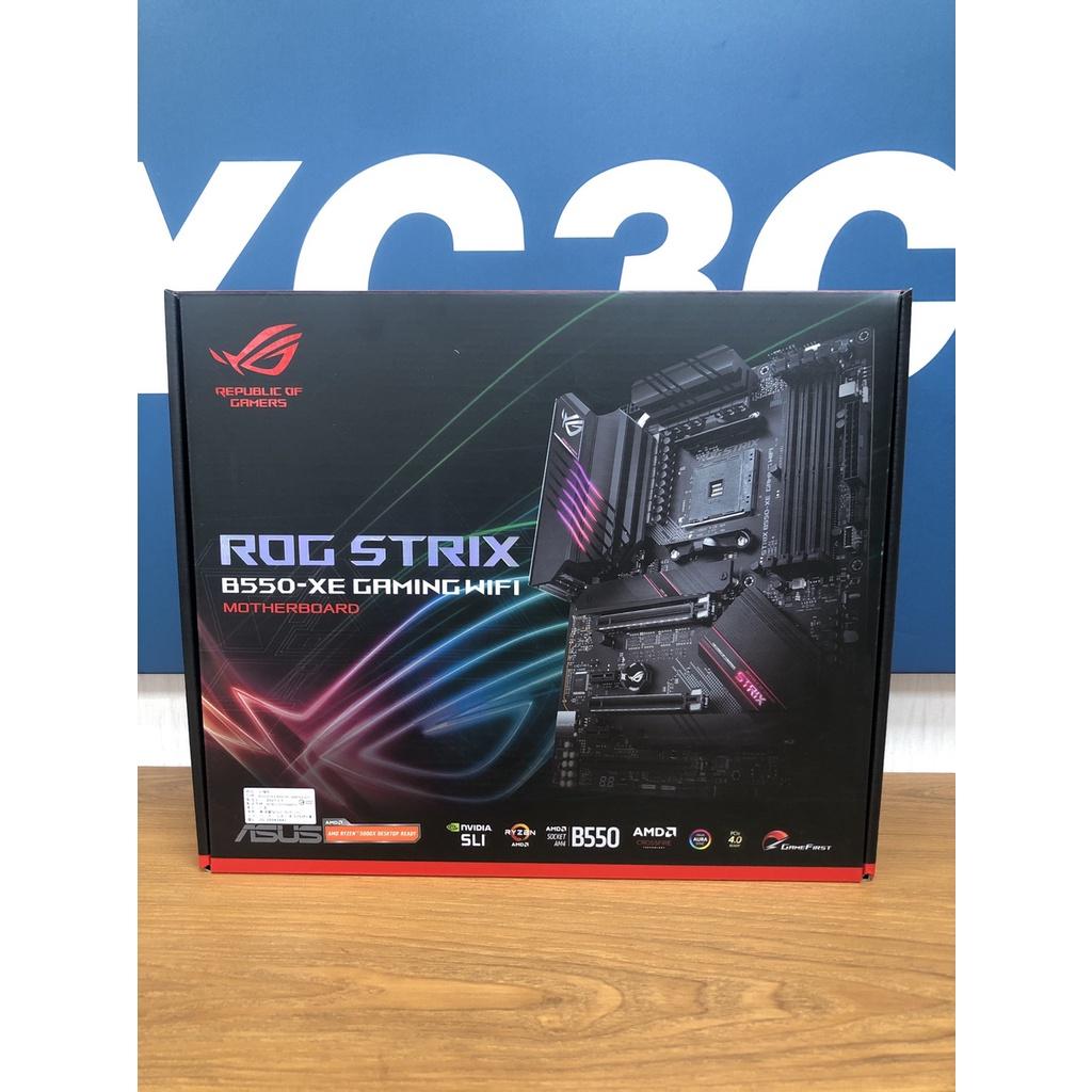 華碩 ROG STRIX B550-XE GAMING WIFI 主機板  全新商品(請先詢問是否有現