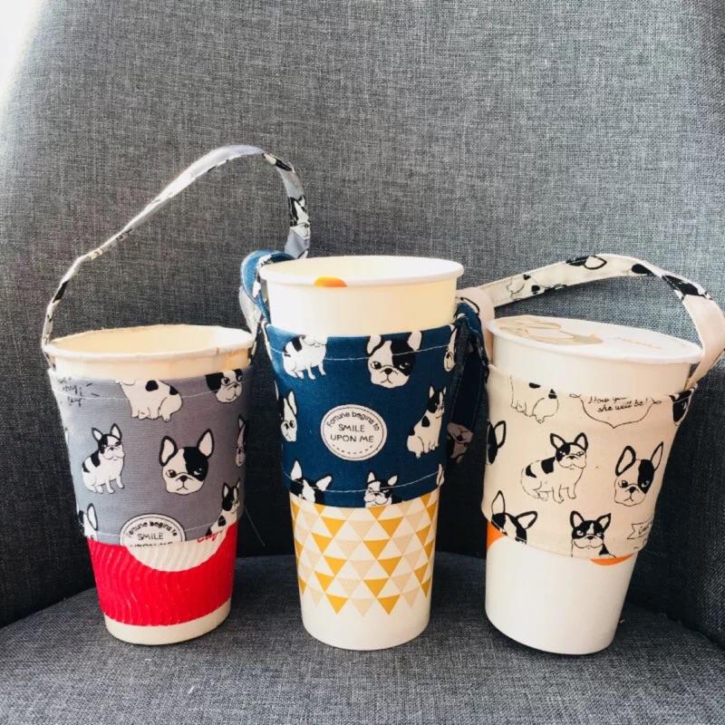 現貨 大頭法鬥手搖杯袋 ♻️環保飲料杯提袋
