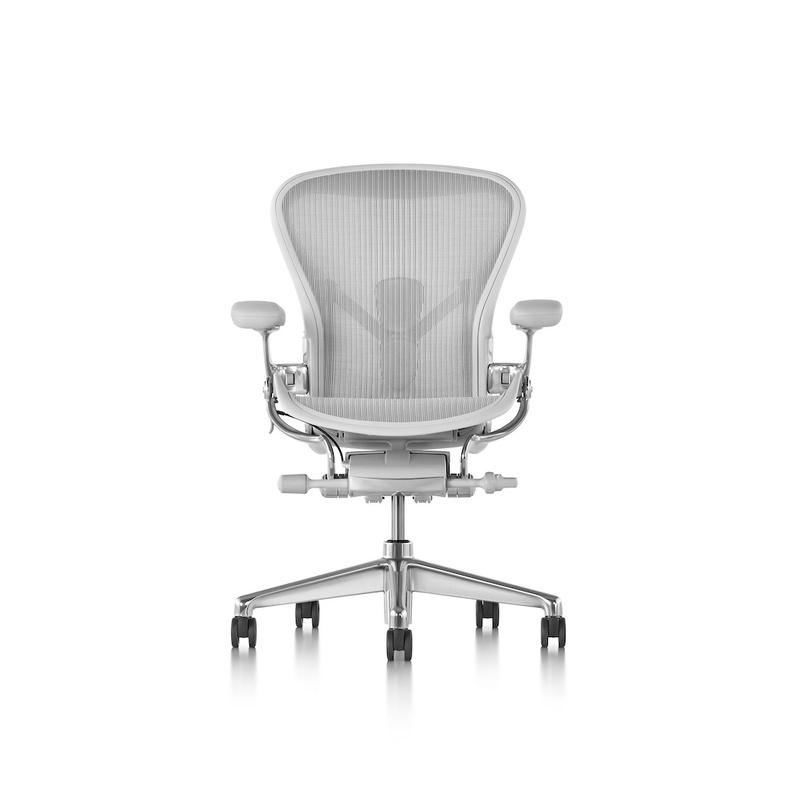全網最低價!美國製礦石白豪華版!最高配置全功能全新正品Herman Miller New Aeron 2.0人體工學椅