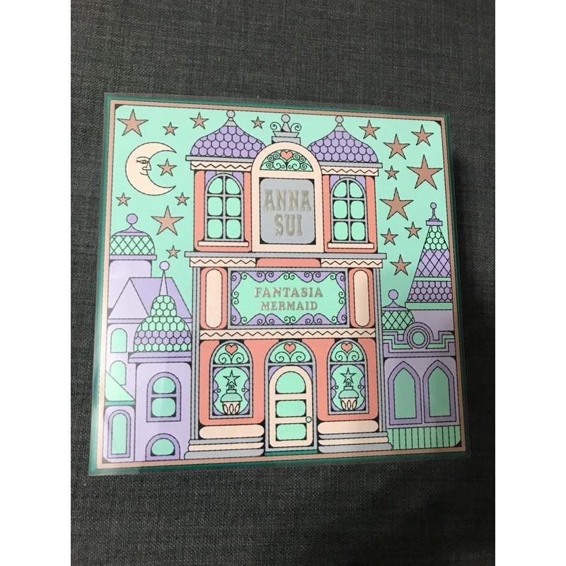 (送 防疫良罩2片/台灣製) ANNA SUI美人魚城堡假期禮盒