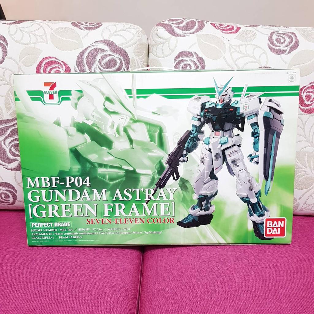 Bandai PG 1/60 MPF-P04 Gundam Astray Green Frame Seven-Eleve