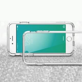 Apple iPhone SE 4吋 高質感雙料材質 透明TPU+PC手機殼/ 保護套