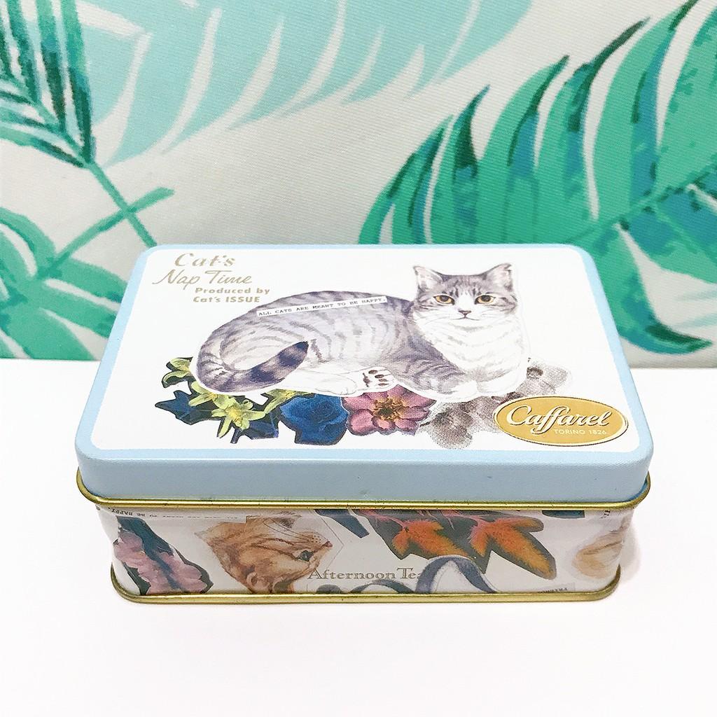 日本貓物🐱Afternoon Tea Cat's Nap Time 聯名限定 絕版 貓咪 筷架 紙袋