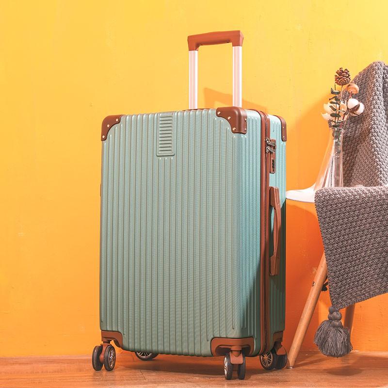 網紅20行李箱ins女復古拉桿密碼箱學生24/28寸大容量男旅行皮箱子鹿納里小姐