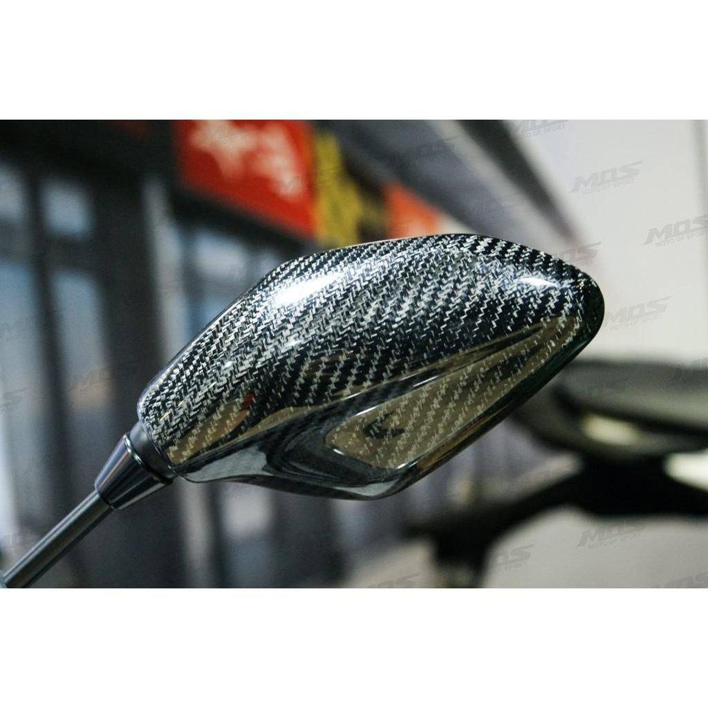 【KIRI】 MOS YAMAHA MT-03 MT-07 碳纖維 後視鏡蓋 後照鏡蓋 (CF) 真空製成