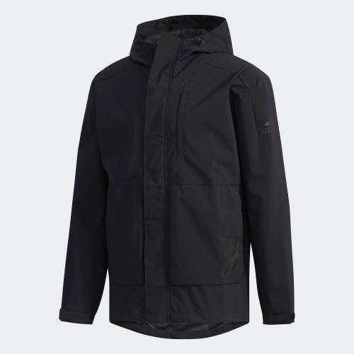 [ROSE] ADIDAS  男裝 外套 連帽  防風  黑 EH3745 原價3490 特價2690