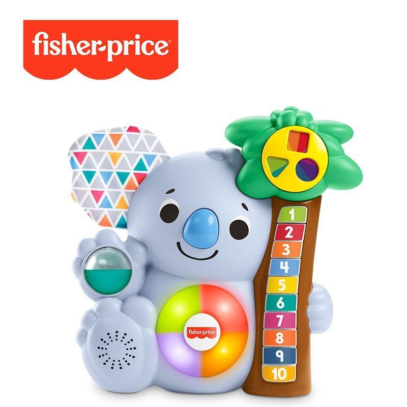 Fisher-Price 費雪 LINKIMALS 聲光互動無尾熊【衛立兒生活館】