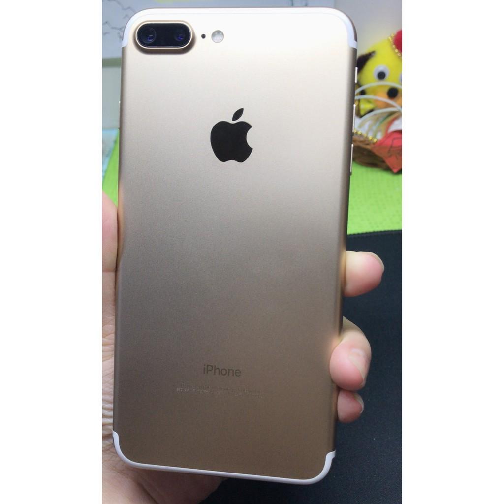 iPhone 7plus 128G (金色)99成新無傷 有原盒序號一致  功能正常 彰化可面交