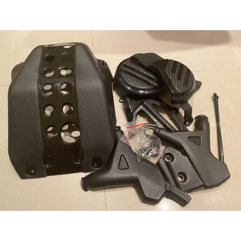 Crf150l 車殼保護三件組 整套 拆賣 下護板 車身護蓋 引擎護蓋 現貨