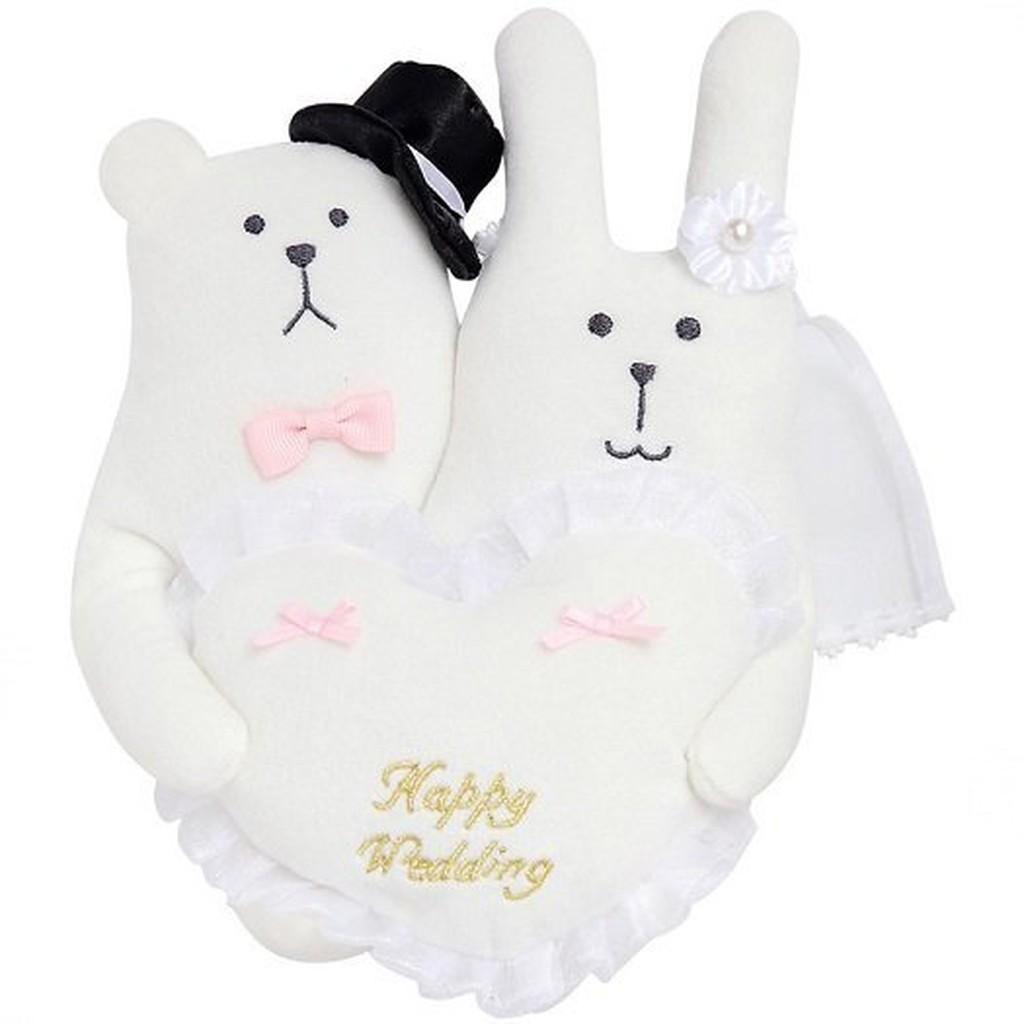 日本正版CRAFTHOLIC 宇宙人 結婚禮盒 公仔 娃娃 結婚組