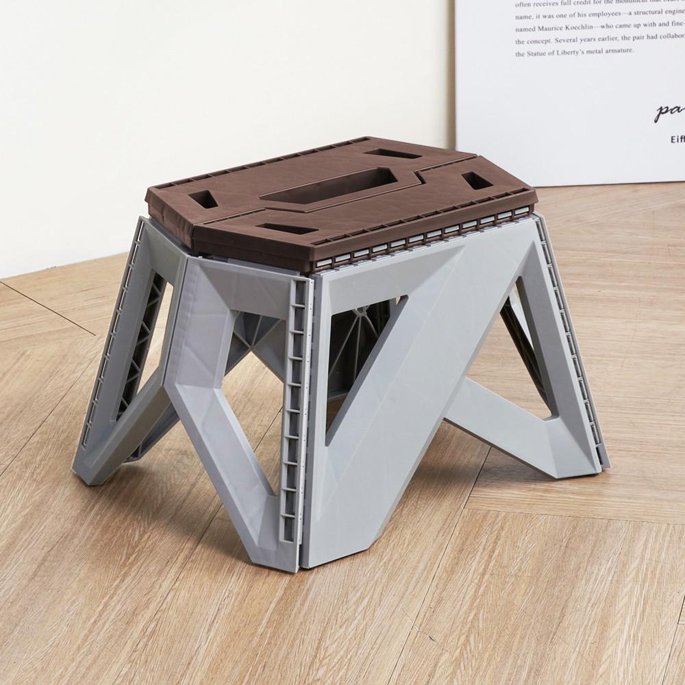 H&D 收納職人︱歐普姆斯好收易攜帶摺合椅(23CM)-3色折疊椅 椅凳 【RC810】