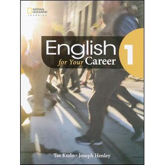 go蝦米 English for Your Career (1) 附MP3 9789869586122英文東華1809
