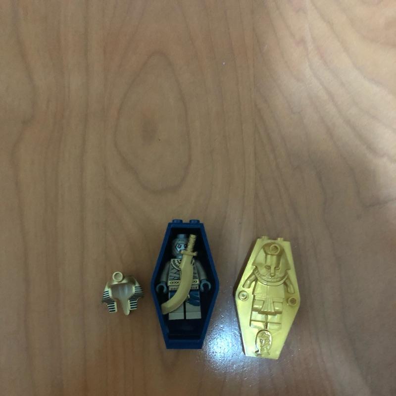 LEGO 7327 法老王單售,含棺材權杖 正樂高可拍原廠說明書