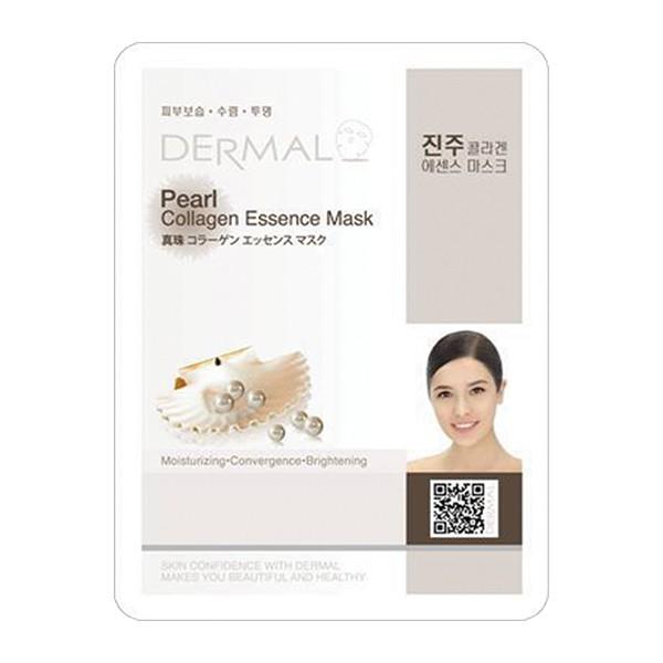 韓國Dermal-珍珠保濕亮彩面膜  【大潤發】