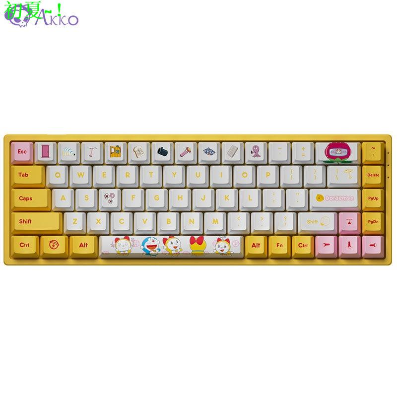 AKKO 3068 哆啦A夢/哆啦美 藍牙 5.0雙模RGBG55d5899ff