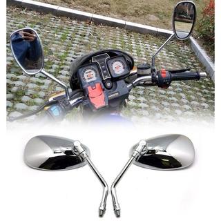 適用於雅馬哈Vmax Virago 535 V-Star 650 1100 1300的1對摩托車後視鏡摩托車後視鏡