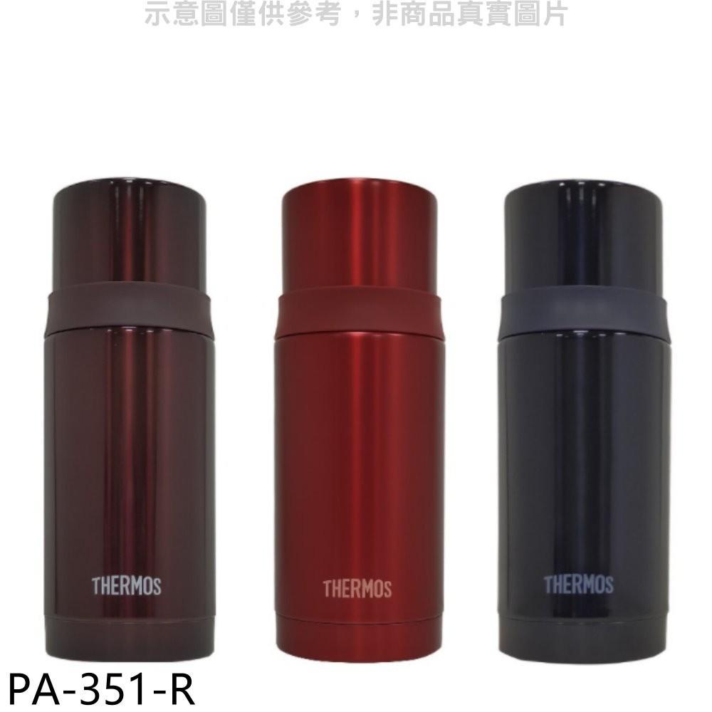 膳魔師【PA-351-R】350cc不鏽鋼真空FFM-350同款保溫瓶R紅色 分12期0利率