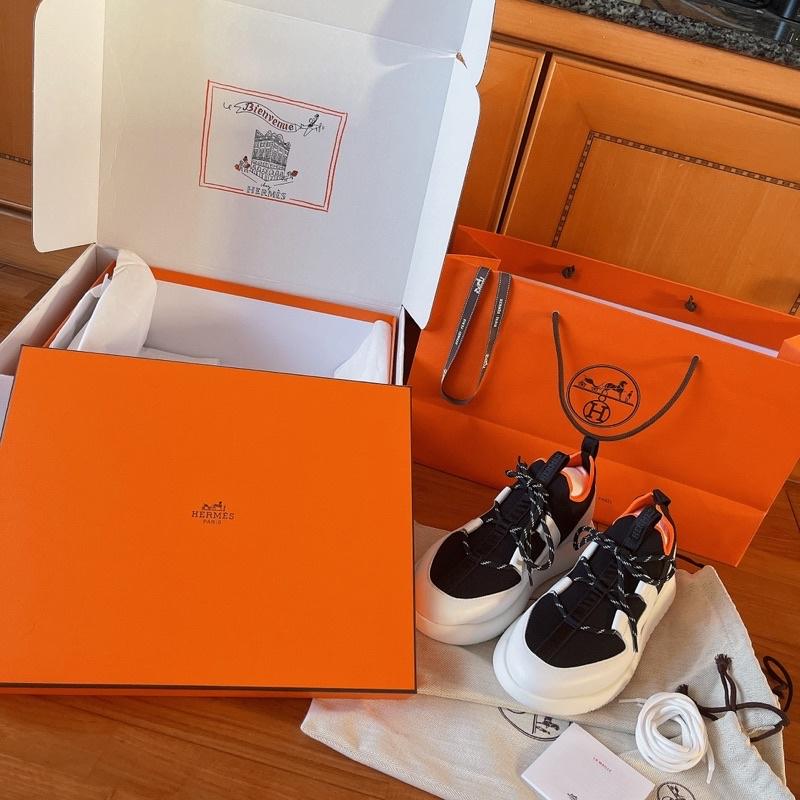 Hermes 愛馬仕duel sneaker 真品 正品 名牌 運動鞋 全新 大全套 可鑑定 女鞋 男鞋 可送禮