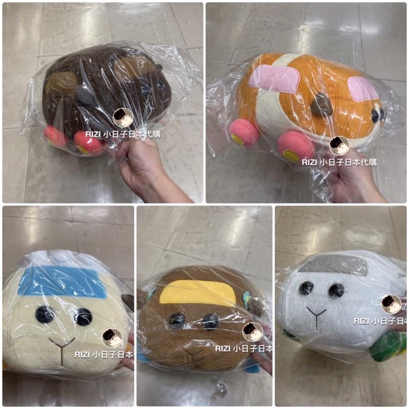 日本代購 天竺鼠車車 玩偶 娃娃 RIZI 小日子日本代購 天竺鼠 車車