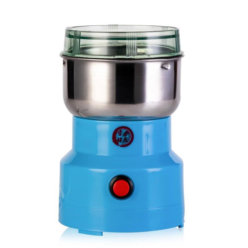 中規粉碎機 五穀雜糧電動磨粉機 家用小型研磨機 不銹鋼中藥材咖啡打粉機 110V-220V適用台灣電壓 研磨機