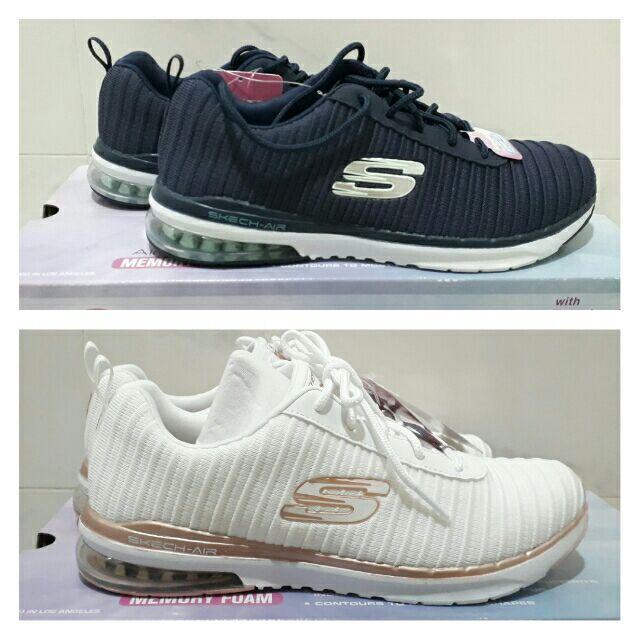 【好市多全新正版 】SKECHERS 女休閒鞋 氣墊鞋 休閒鞋 氣墊休閒鞋  / COSTCO