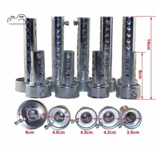 加長版排氣管專用消音器 摩托車改裝 排氣管 毒蛇排氣管 調音消音器 回壓芯 口徑帶回壓可調聲消音塞小藝