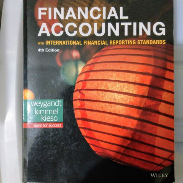 Financial Accounting 4E 9781119504306 財務會計原文