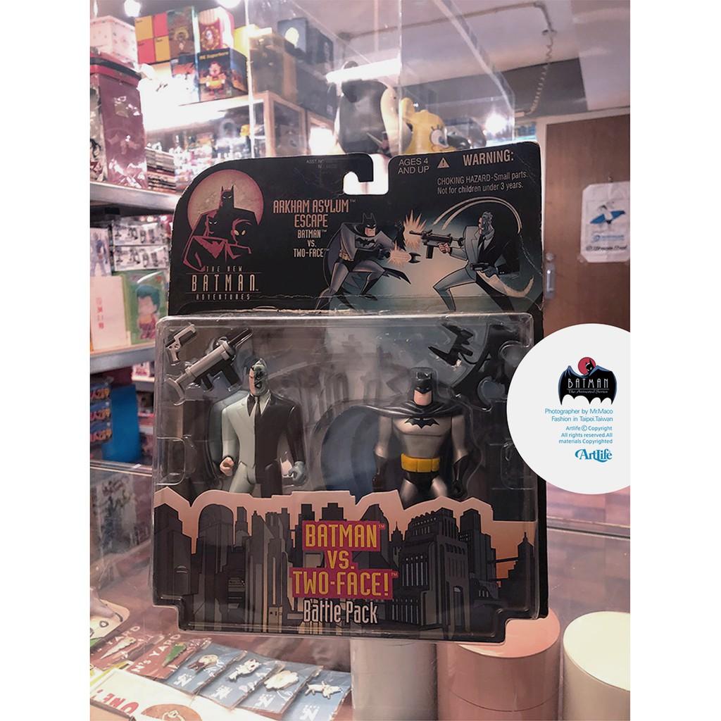 ArtLife @ KENNER 1992 DC Animated BATMAN TWOFACE 經典 蝙蝠俠 雙面人