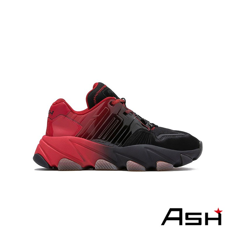ASH EXTASY 增高厚底老爹鞋 紅色