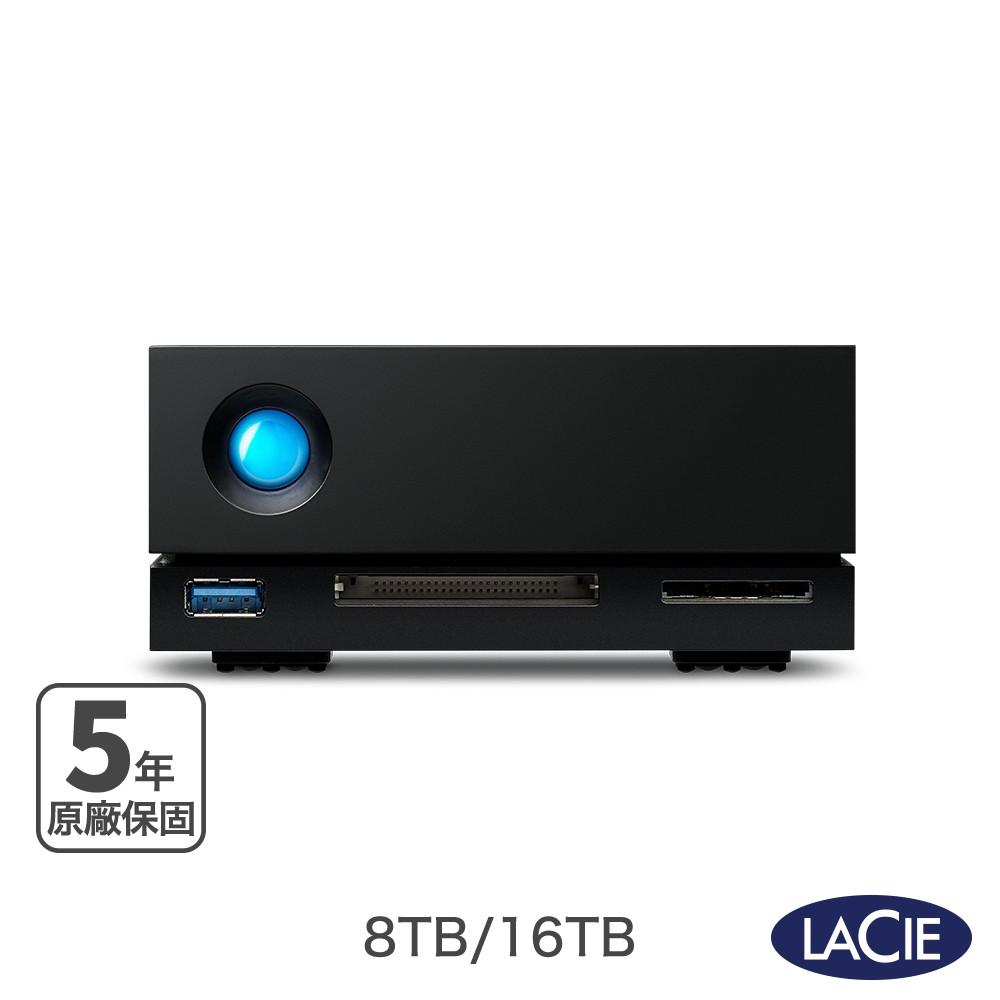 LaCie 萊斯 1big Dock Thunderbolt 3 8TB|10TB|16TB|18TB 外接硬碟