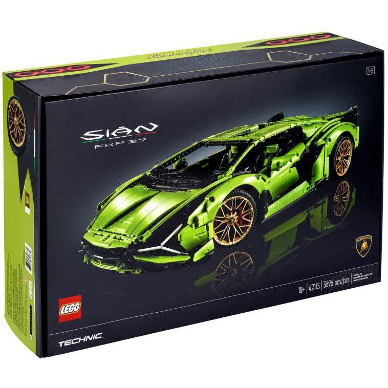 【玩樂心晴】樂高 LEGO 42115 全新未拆 Technic 科技 藍寶堅尼 盒組 BIMP