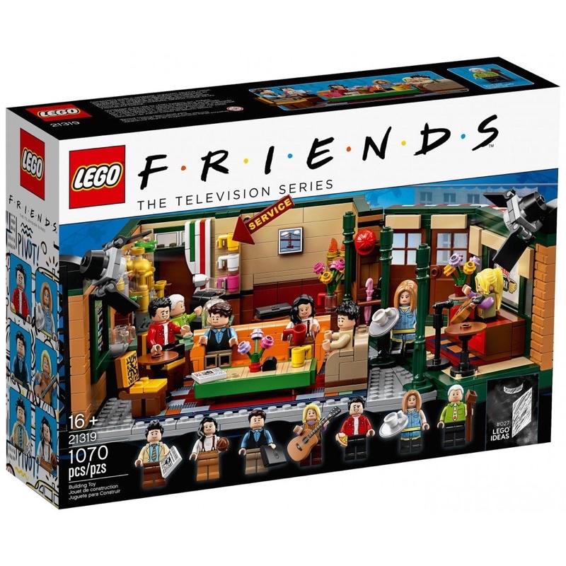 全新樂高|盒組|LEGO 21319  六人行 IDEA系列 禮物 收藏