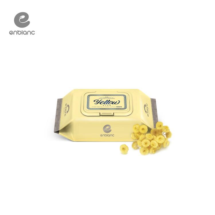 ENBLANC 頂級柔緻純水有蓋隨身包濕紙巾|蠟菊萃取物|20抽(包)
