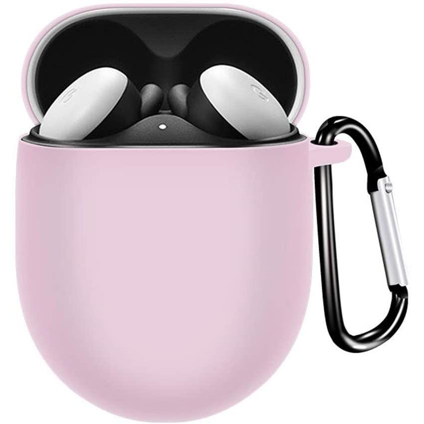 適用於Google Pixel buds2耳機矽膠保護殼 谷歌耳機保護套 防丟殼 Pixel buds2耳機配件防摔殼