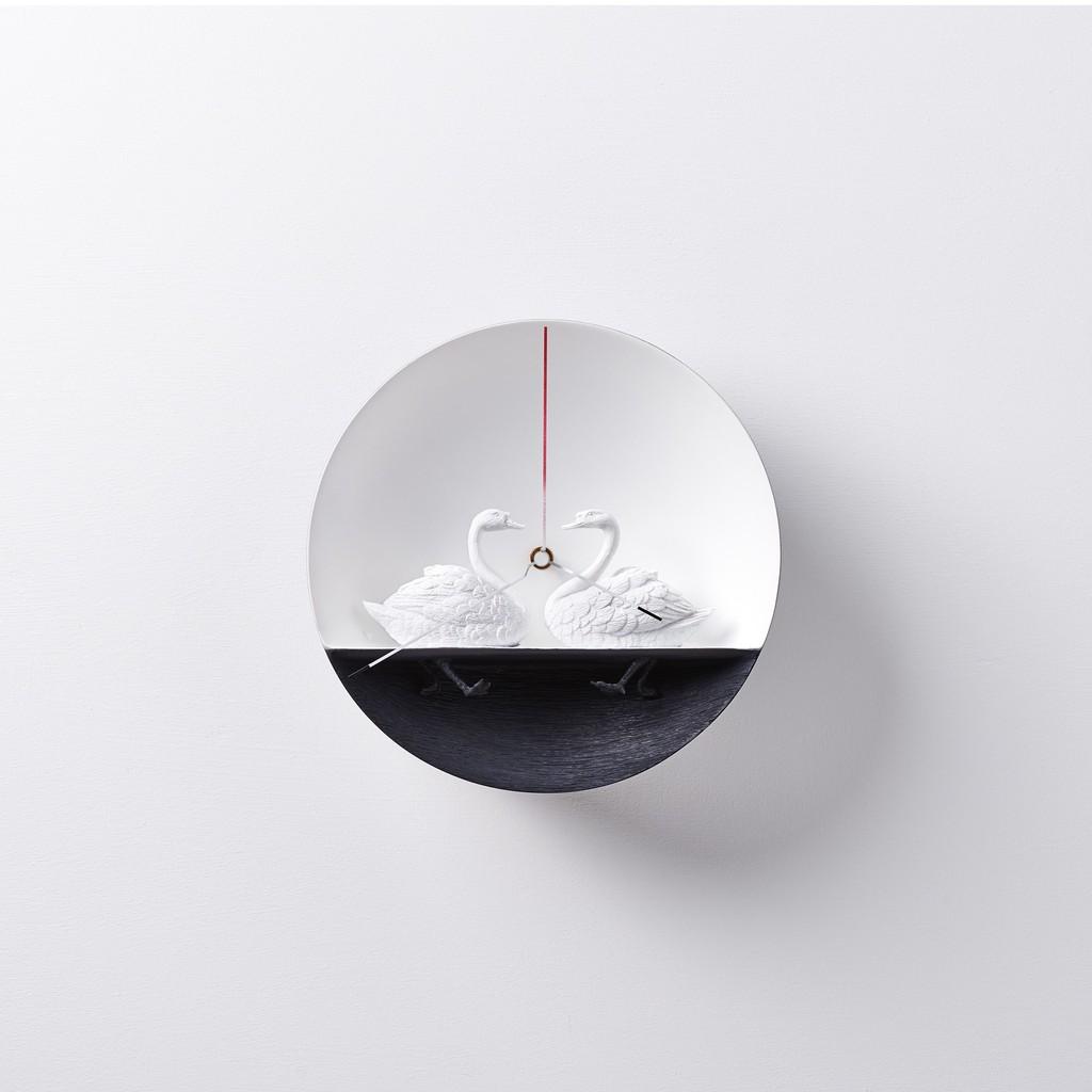 haoshi 良事設計 水鳥時鐘 - 天鵝01