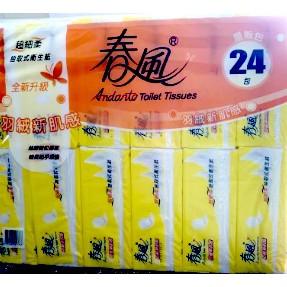 【春風】超細柔抽取式衛生紙110抽x24包x3串 (共72包)宅配免運