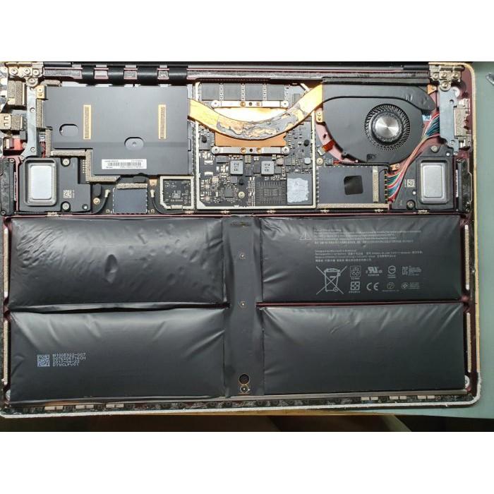 高雄微軟Surface pro5電池更換 Surface pro電池膨脹 主機板維修 玻璃破裂 開機死當