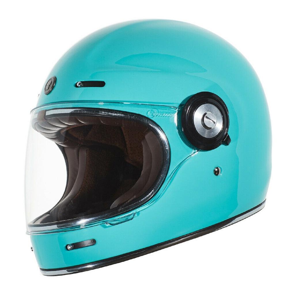 [安信騎士]TORC T-1 T1 素色 TIFFANY 樂高帽 全罩安全帽 復古帽 雙D扣