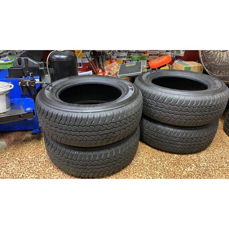 高雄人人輪胎 中古胎 二手胎 僅使用約500公里 Dunlop PT AT25 265 60 18 一組四條 hilux