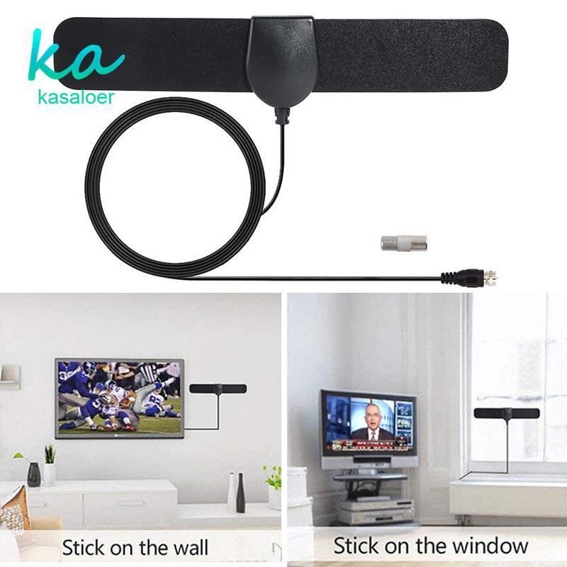 卡薩卡薩高清35英里範圍數字電視高清4K HDTV天線室內35英里範圍數字電視HDTV天線空中