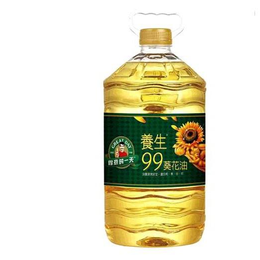 GREAT DAY SUNFLOWER OIL 得意的一天養生99葵花油 5公升 C106356