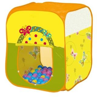 【W先生】親親 CBH-21 方型蝴蝶帳蓬 贈100球 6cm 兒童帳篷 球屋 球池 遊戲屋 免運 臺南市