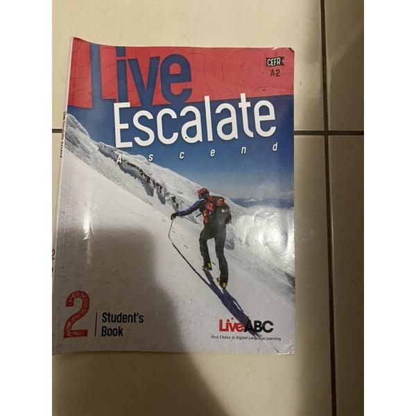 大學二手英文書Live Escalate