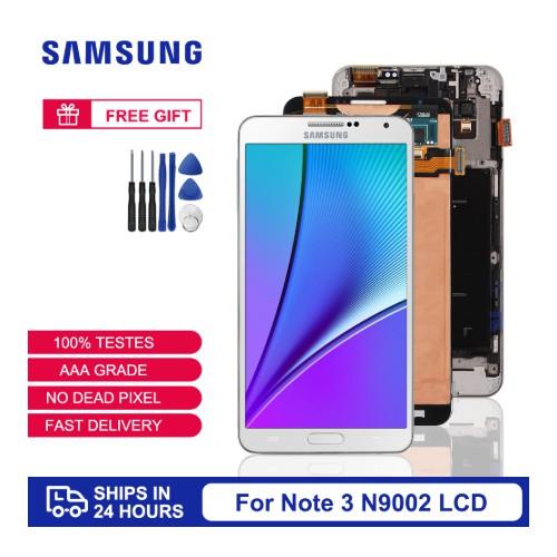 Wolf 用於三星Galaxy Note 3 N9000 N9005 螢幕總成 液晶螢幕 玻璃觸控面板
