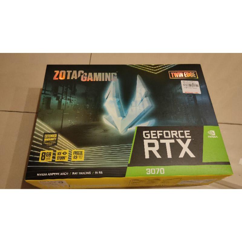 2手ZOTAC RTX3070 貼錢換RTX3080