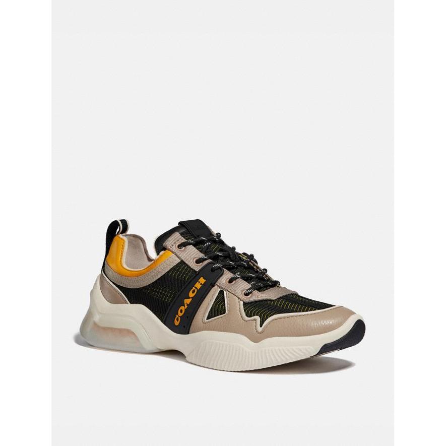 COACH CITYSOLE 運動鞋 Runner 購於美國 黃 灰 配色 保證正品 男鞋