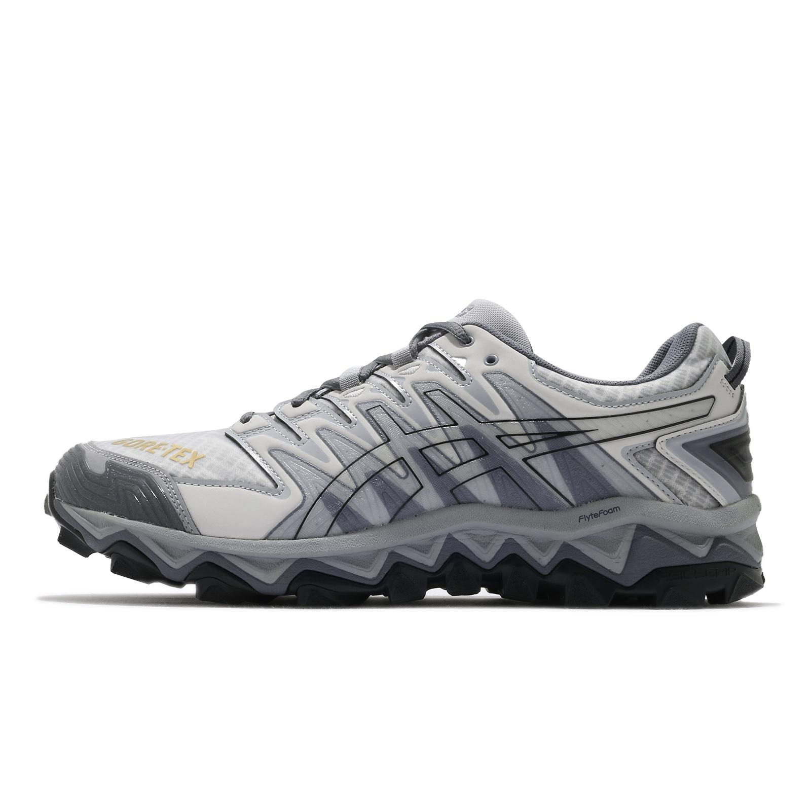 Asics Beams x Gel FujiTrabuco 7 G-TX SPS 灰 防水 越野跑鞋 聯名 男鞋 ACS