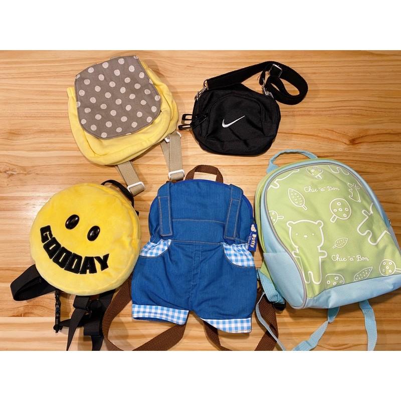 🔥全新現貨🔥奇哥 NIKE 迪士尼 達菲 幼兒包包 兒童包包 斜背包 後背包 肩背包 媽媽包 收納包 書包 二手