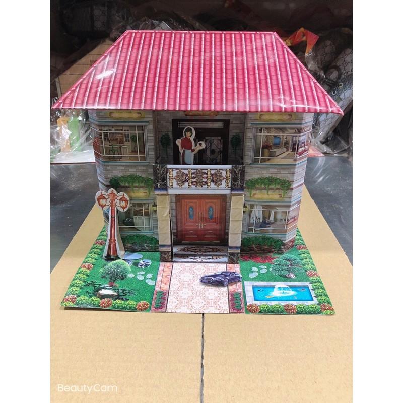欣安❤️ 紙紮 往生 祭祖 小房子 二樓 管家 司機