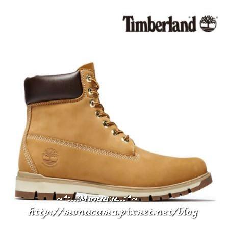 韓國【Timberland】Radford 6吋防水牛皮男靴棕色